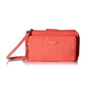 Handbags - NWT VERA BRADLEY Coral Reef Deluxe Crossbody•
